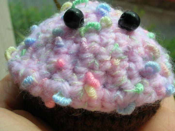 crochet cupcake toy