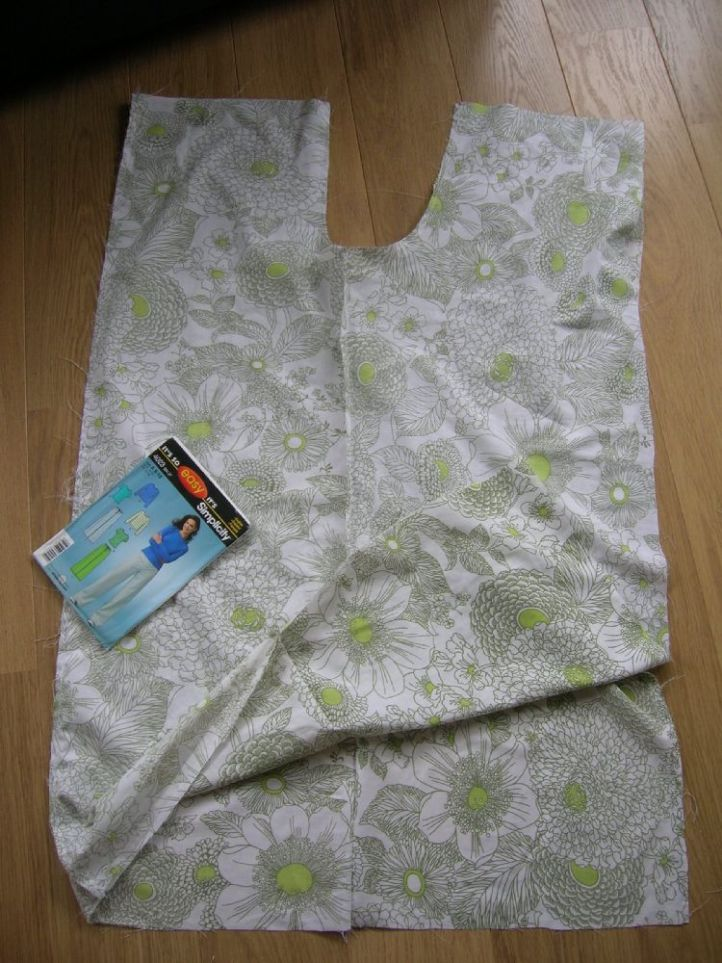 Vintage sheet sewing for trousers