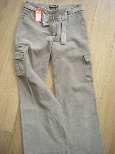 Cargo corduroy trousers