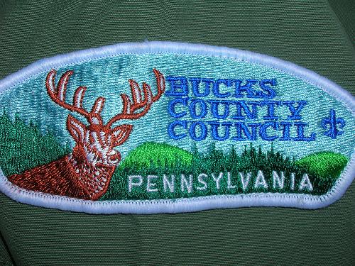 Bucks County Pennsylvania boy scout uniform