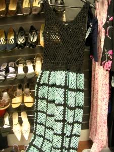 crochet dress thrift