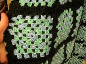 crochet dress upclose