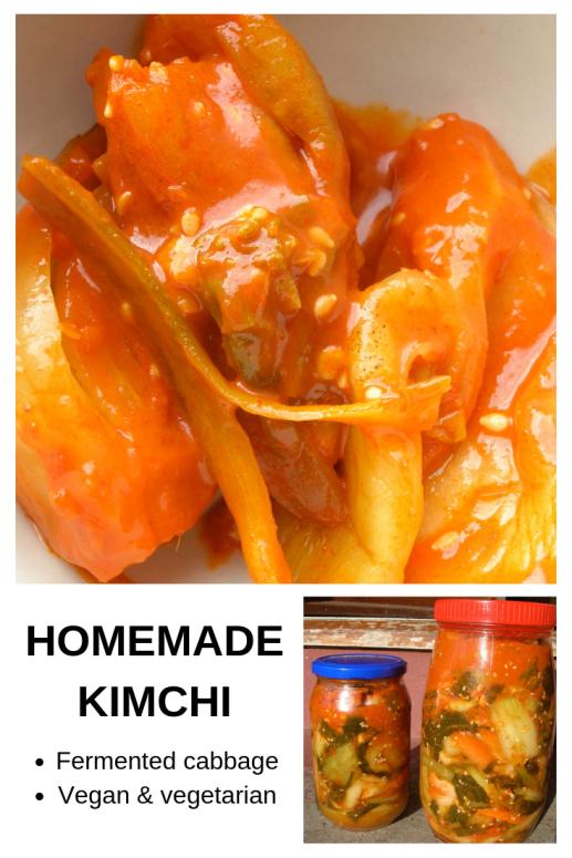 Easy fermented kimchi