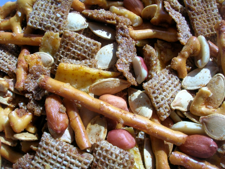 Homemade chexmix | Riotflower's Realm