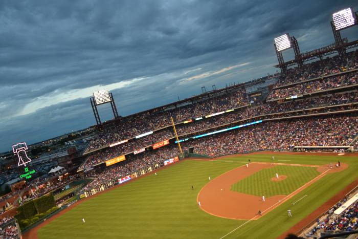 Citizen's Bank Park, Philadelphia. Home of the Phillies.