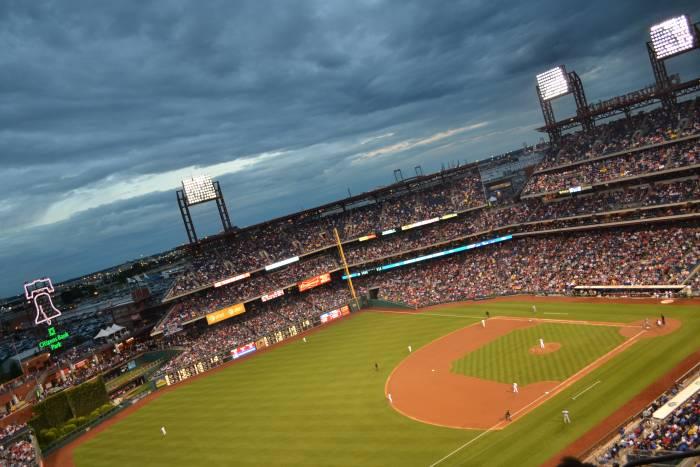 Citizen's Bank Park, Philadelphia. Home of the Phillies.