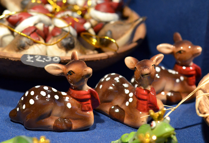 Christmas deer at German market