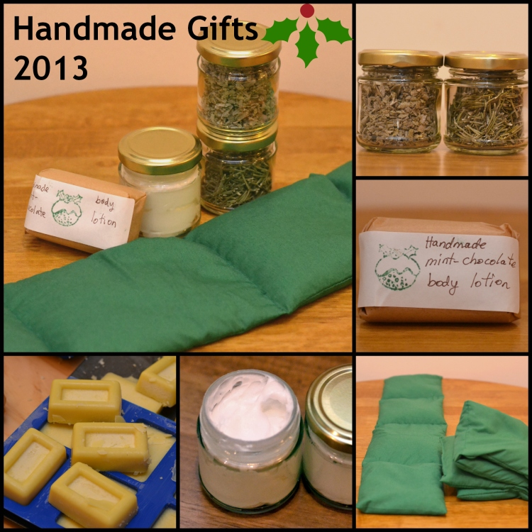 Handmade Christmas Gifts 2013