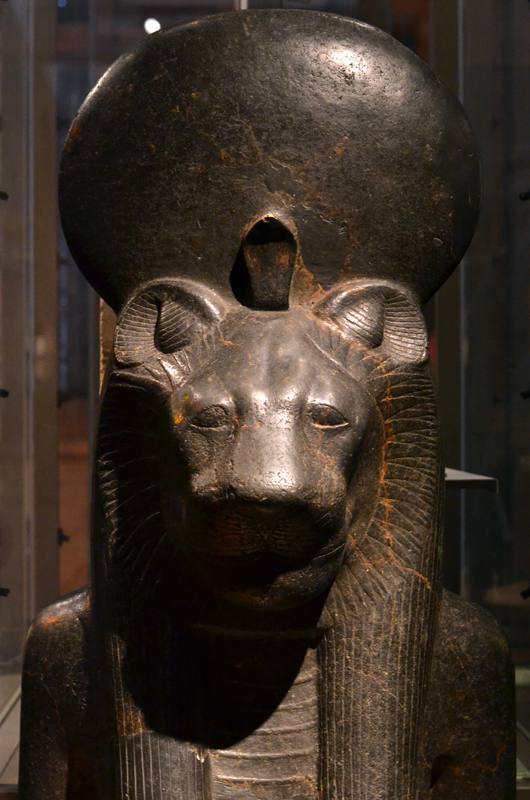 Egyptian god at Kelvingrove