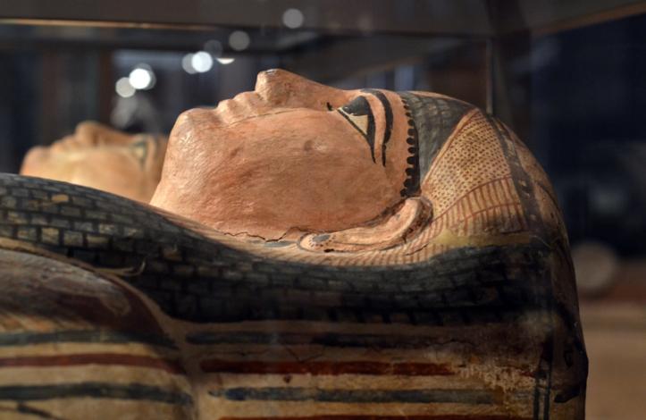 Egyptian mummy at Kelvingrove