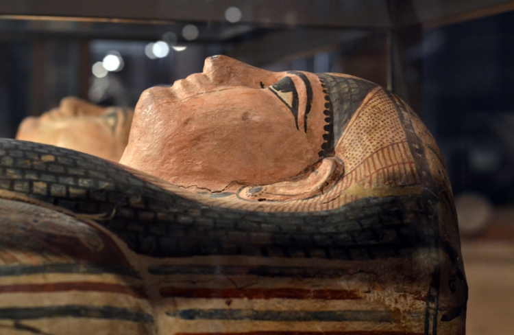 Egyptian mummy at Kelvingrove
