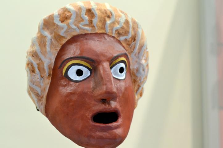 Mask at Kelvingrove