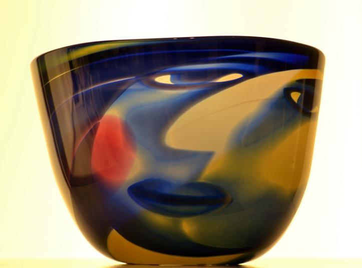 Face bowl at Kelvingrove