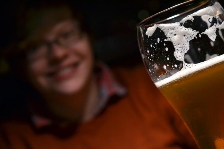 Beer at Bier Halle