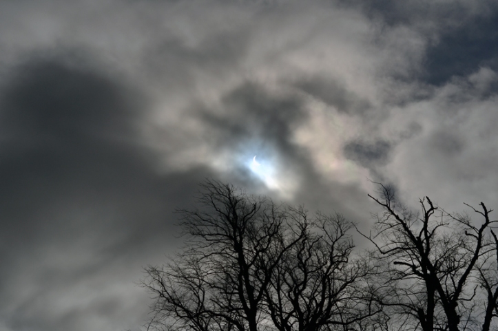 Solar Eclipse 2015 in Stirling