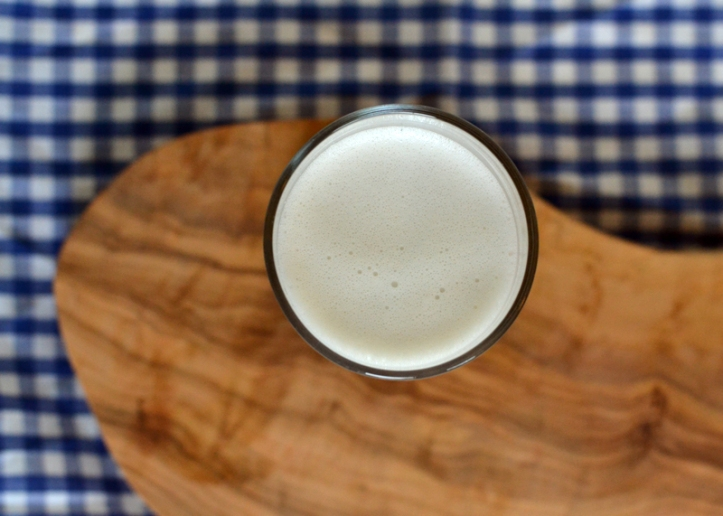 homemade cashew milk from nutri ninja