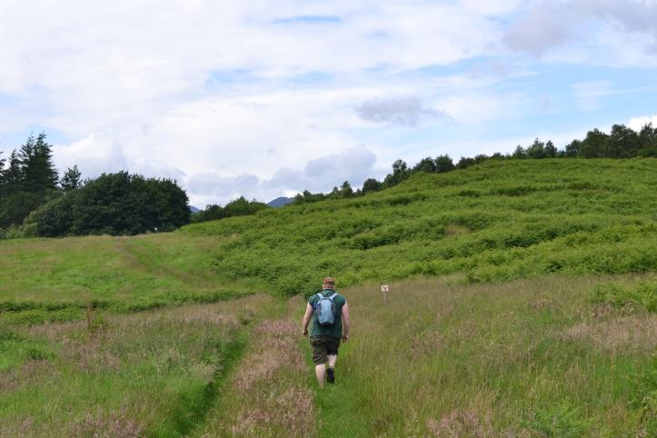 Walking at Comrie Croft