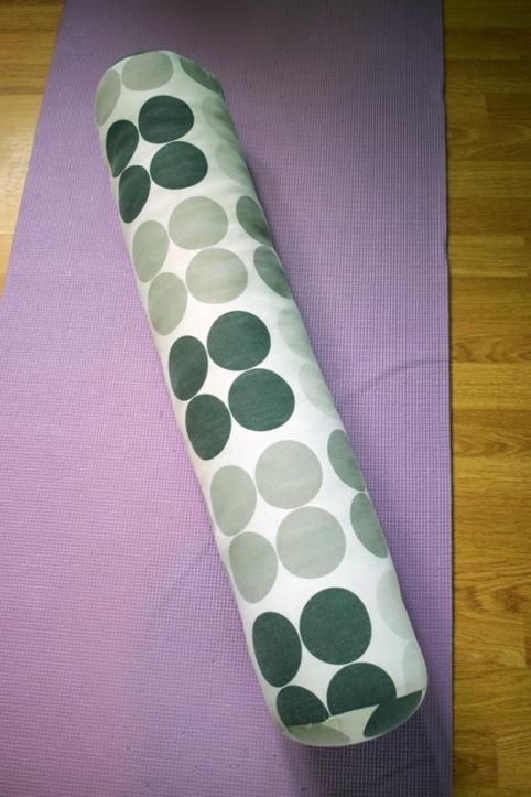 Handmade Yoga Bolster | Riotflower's Realm