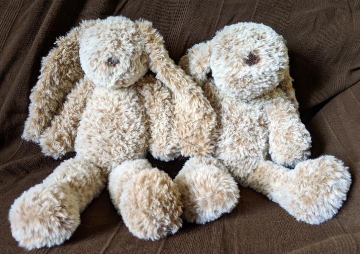 Handmade crochet bunny